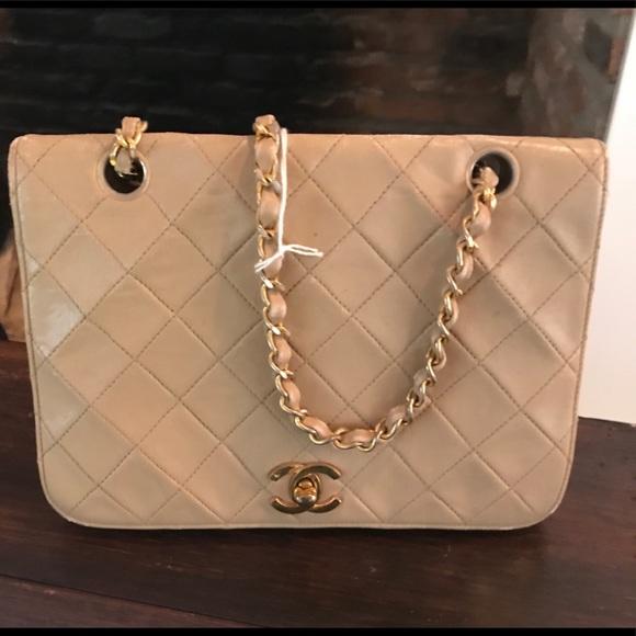 CHANEL Handbags - 100% Authentic Vintage 1970 s Chanel bag 575705ff91ae3